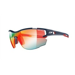 Julbo AERO Zebra Light Fire + Clear Anti-fog - PRO MODEL MF BLUE/ RED  + Buff