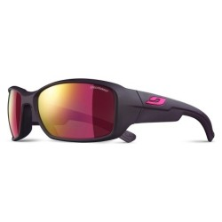 Julbo WHOOPS Spectron3 CF - AUBERGINE  / PINK LOGO